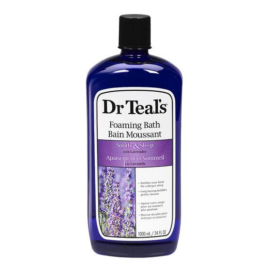 Dr Teal's Foam Bath - Soothe - 1000ml
