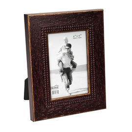 London Home Picture Frame - Weathered Wood - 4x6in
