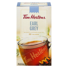 Tim Hortons Earl Grey Tea - 20 Pack