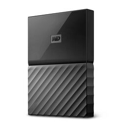 WD 2TB My Passport USB 3.0 Portable Storage - Black - WDBS4B0020BBK-WESN
