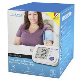Lifesource Talking Blood Pressure Monitor - UA1030TCN