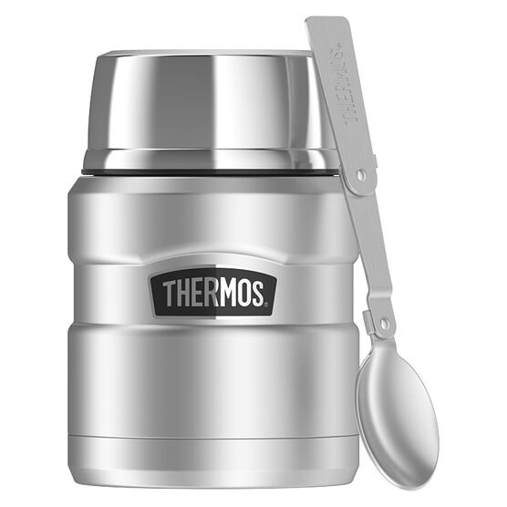 Thermos Stainless Steel King Food Bottle - Stainless Steel - 470ml