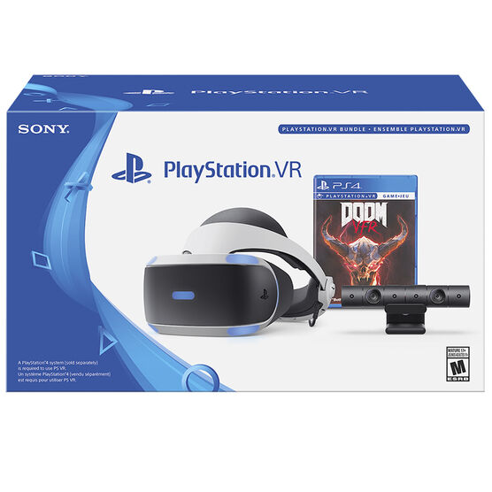 Sony PlayStation PS VR Doom VFR Bundle - CUH-ZVR2 U