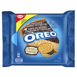Christie Oreo Cookies - Chocolate Peanut Butter Pie - 303g