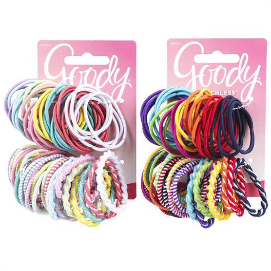 Goody Ouchless Elastics Assorted - 60's