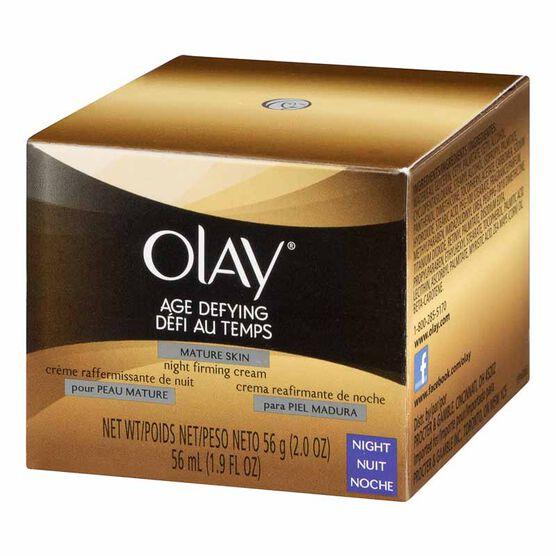 Olay Age Defying Night Cream for Mature Skin - 56g