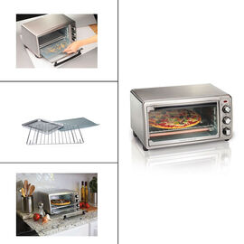 Hamilton Beach 6 Slice Toaster Oven - Stainless Steel - 31411