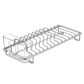 InterDesign Metro Compact Dish Rack - Aluminum