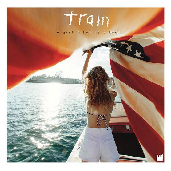 Train - A Girl, a Bottle, a Boat - CD