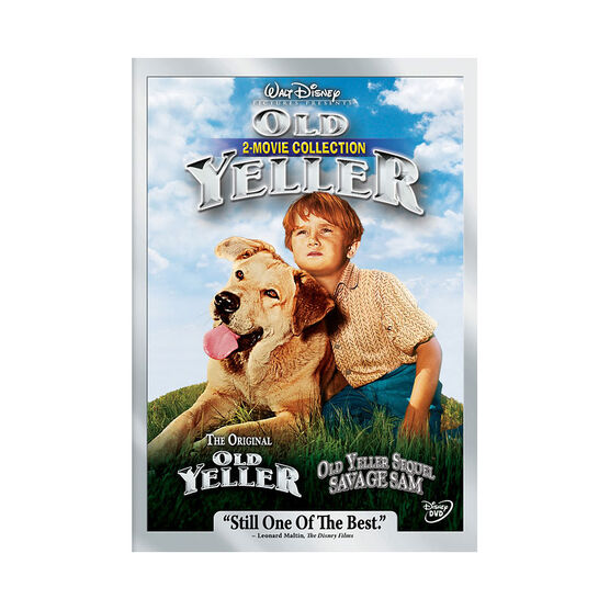 Old Yeller - 2 Movie Collection - DVD