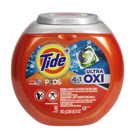 Tide Pods Laundry Detergent - Ultra Oxi - 32's
