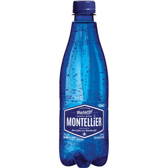 Montellier Sparkling Mineral Water - 500ml