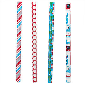 """Plus Mark Trendy Wrapping Paper - 30"""" x 50"""" - Assorted"""