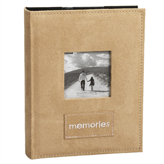 Pioneer Embroidered Patch Faux Suede Album - Assorted Colours