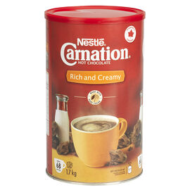 Nestle Carnation Hot Chocolate Mix - 1.7kg