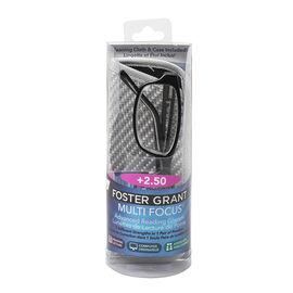 Foster Grant James Multifocus Reading Glasses - 2.50