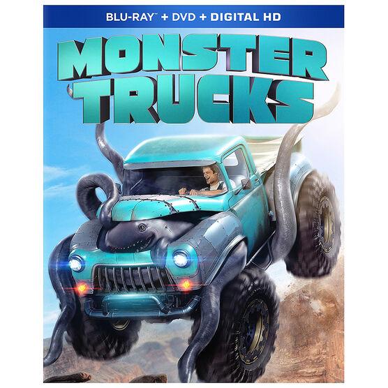 Monster Trucks - Blu-ray
