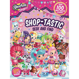 Shopkins Shoppies Shop-tastic Seek and Find - 100 Stickers