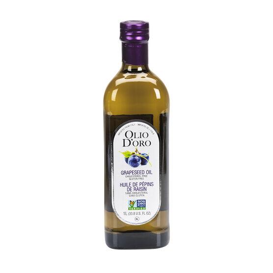 Olio D'Oro Organic Grapeseed Oil - 1L