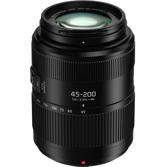 Panasonic LUMIX G VARIO 45-200mm F4.0-5.6 II Lens - Black - HFSA45200