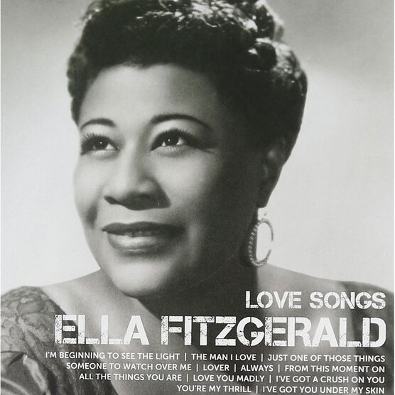 Ella Fitzgerald - Icon: Love Songs - CD