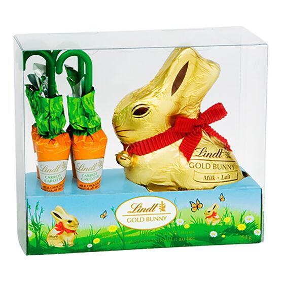 Lindt Gold Bunny & Carrots - 154g