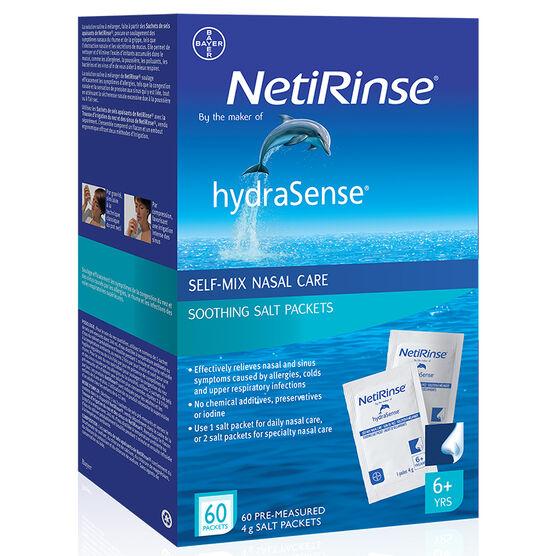 hydraSense NetiRinse Soothing Salts - 60's
