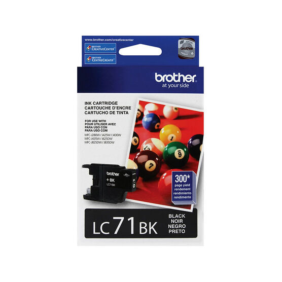 Brother LC71BKS Ink Cartridge - Black - LC71BKS
