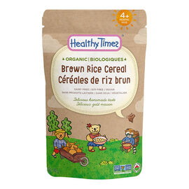 Healthy Times Organic Baby Cereal - Brown Rice - 142g