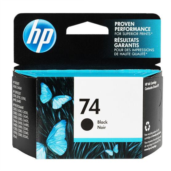 HP 74 J5700 Series Ink Cartridge - Black - CB335WC-140