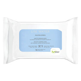 Lise Watier Solution Express One-Step Cleansing Cloths - 56s