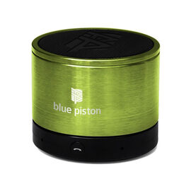 Logiix Blue Piston Bluetooth Speaker - Lime - LGX10611