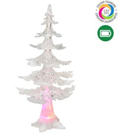Danson Battery Operated LED Acrylic Tree - 14.5in - Colour Changing