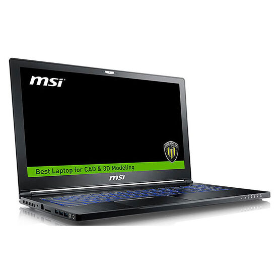 MSI WS63 7RK-297CA 3D CAD CAM Workstation Laptop - 15 Inch - Intel i7