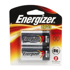 Energizer 3V Lithium Battery Single CRV3