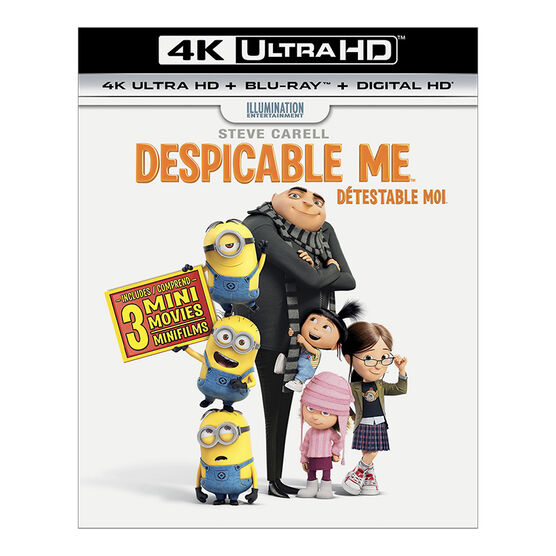 Despicable Me - 4K UHD Blu-ray