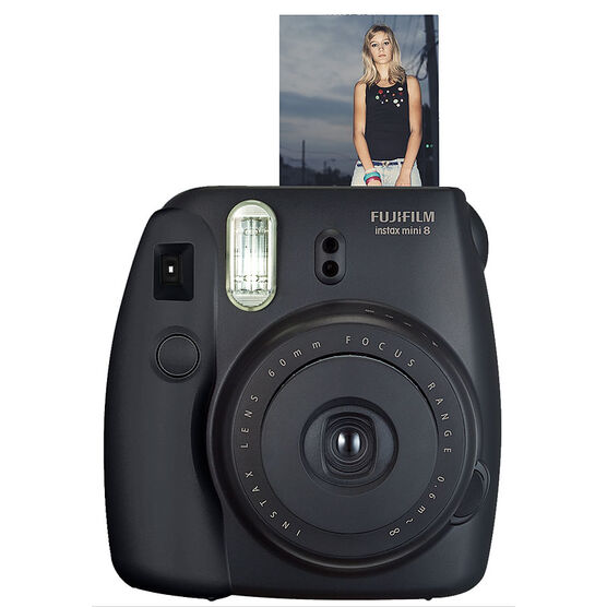 Fuji Instax Mini 8 - Black - 600015398