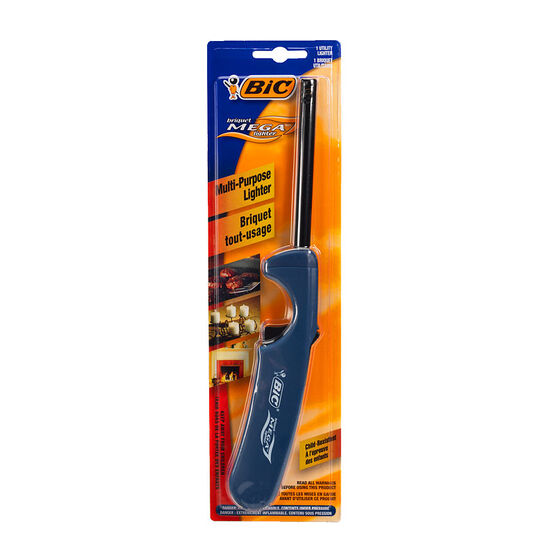 Bic Mega Lighter - 1 pack - Assorted