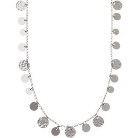 Nine West Strand Necklace - Silver - 42""