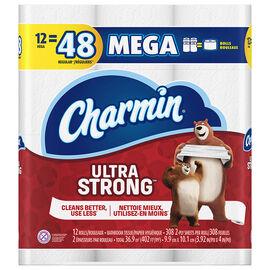 Charmin Bathroom Tissue Ultra Strong Mega Rolls - 12's
