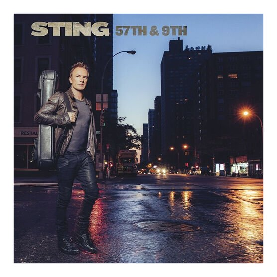 Sting - 57th and 9th - Blue Vinyl