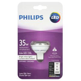 Philips LED MR16 Lightbulb - Bright White - 6.5w/35w