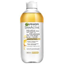 Garnier SkinActive Micellar Cleansing Water with Argan Oil - 400ml