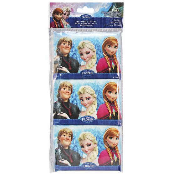 Disney Frozen Wallet Tissues Packs - 3's