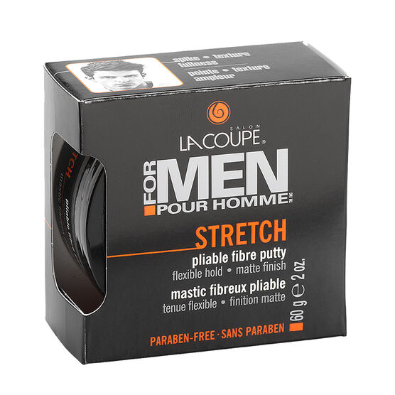 LaCoupe For Men Stretch Pliable Fibre Putty - 60g