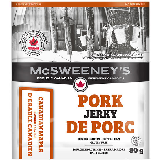 McSweeny Pork Jery - Canadian Maple - 80g