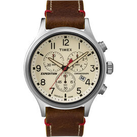 Timex Expedition Scout Chronograph - Brown - TW4B04300ZA