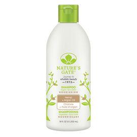 Nature's Gate Shampoo Hemp + Argan Oil - Nourishing - 532ml