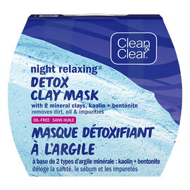 Clean & Clear Night Detox Clay Mask