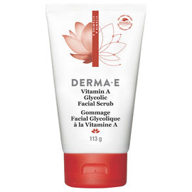 Derma E Vitamin A Glycolic Facial Scrub - 113g